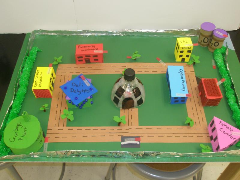 Plant Cell City Project Ideas Plant Cell City Project