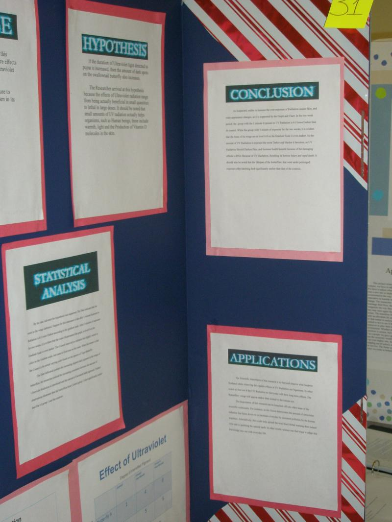 Mr Barrow S Science Center Lab Science Fair Board Format